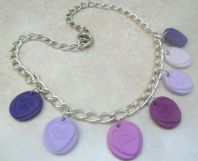 Quirky Love Heart Sweet Necklace.